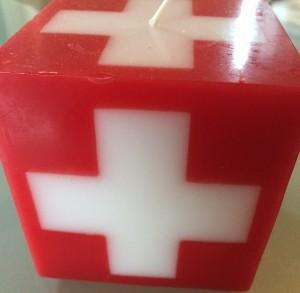 Einige Schweizer Produkte im Einkaufskörbli würden der Wirtschaft guttun, photo taken by ces