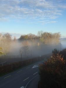 Noch ist es ruhig, doch per 2017 ziehen an der Steuerfussfront Nebelwolken auf, photo taken by ces